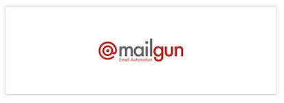 Mailgun as email provider