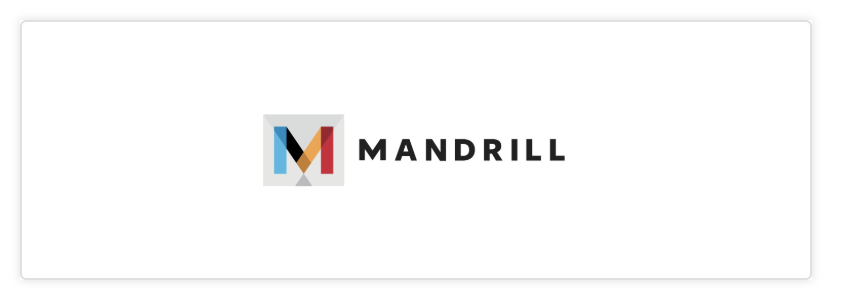 Mandrill as email provider