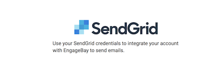 sendgrid integration with engagebay
